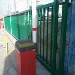 Puerta corredera automatica
