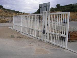 Puerta corredera automática